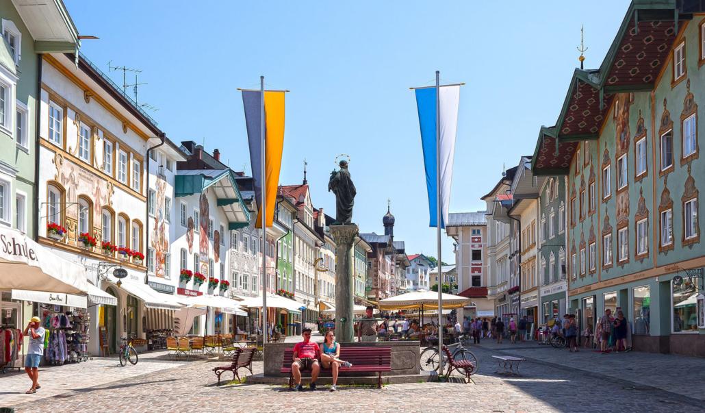 Die Tölzer Marktstraße