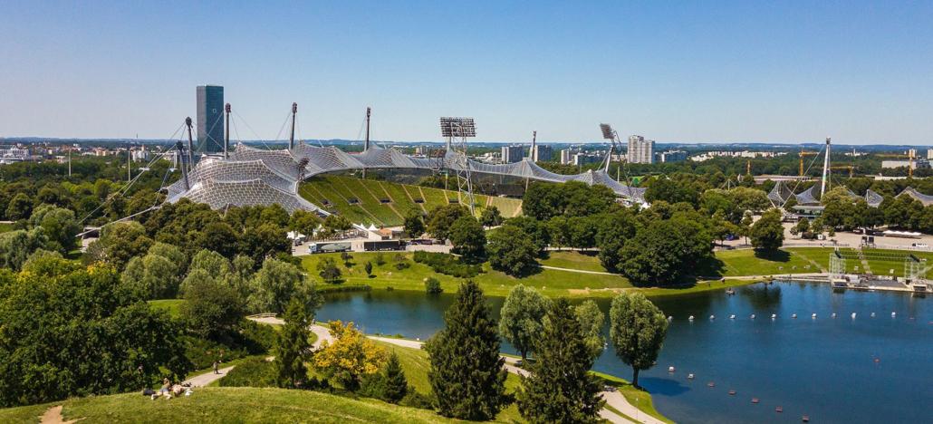 Olympiagelände in München