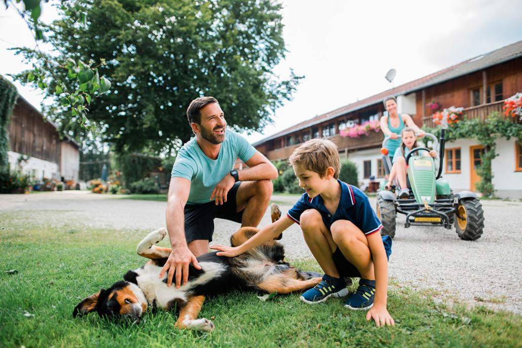 Familienurlaub auf dem Bernwieserhof