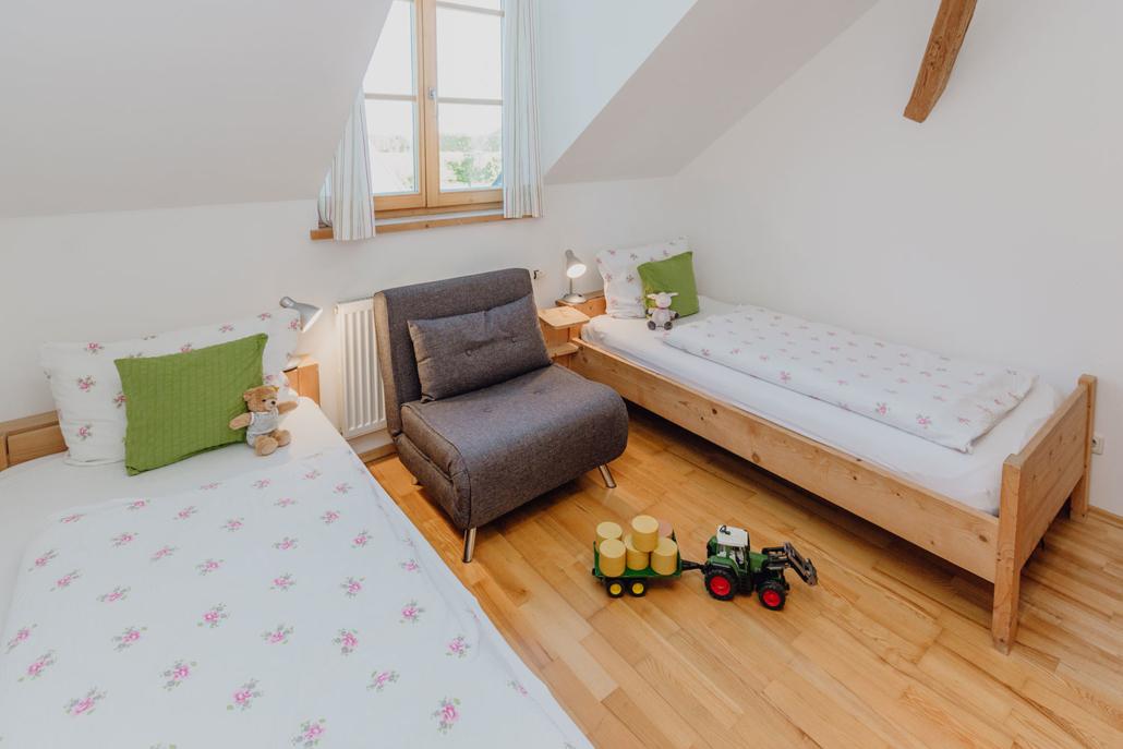 FeWo Sonnenblume – Kinderschlafzimmer