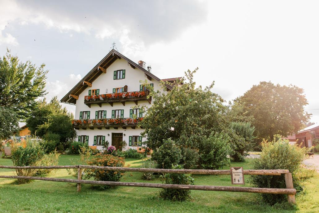 Der Bernwieserhof im Sommer