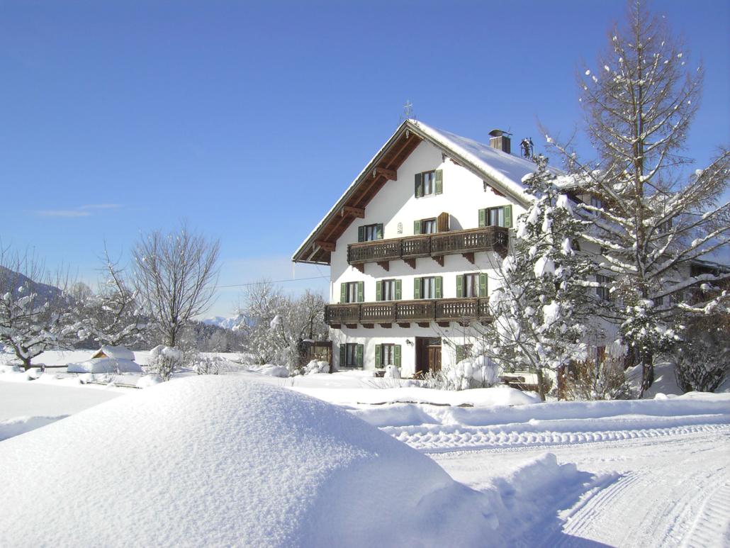 Der Bernwieserhof im Winter
