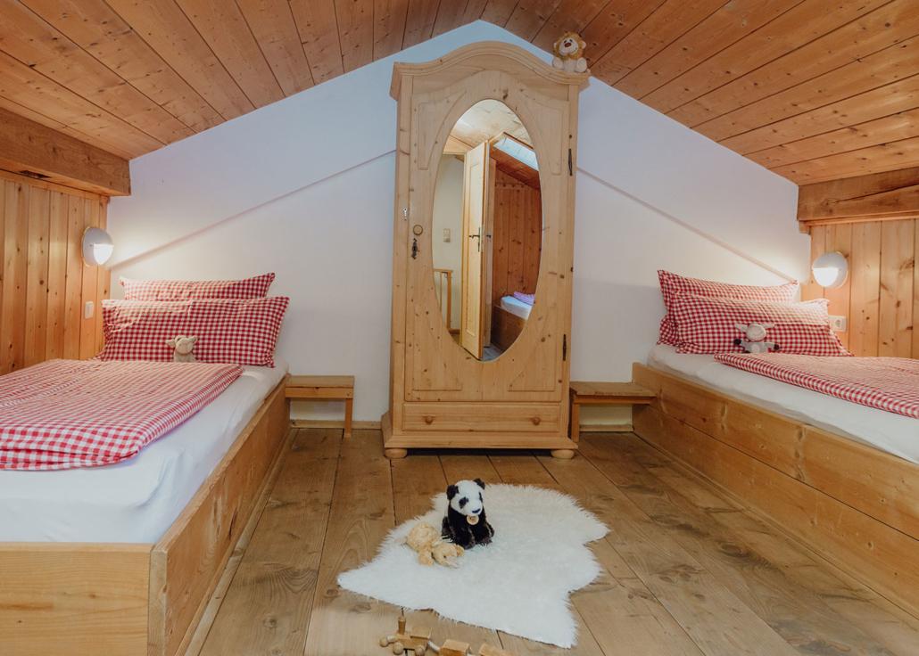Ferienwohnung Enzian, 2. Schlafzimmer